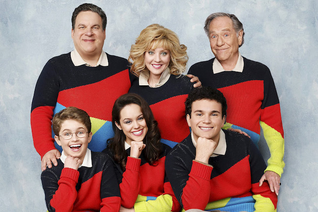 who narrates the goldbergs tv show