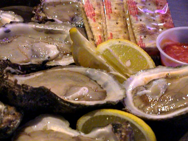Oysters at Cooter Browns, New Orleans