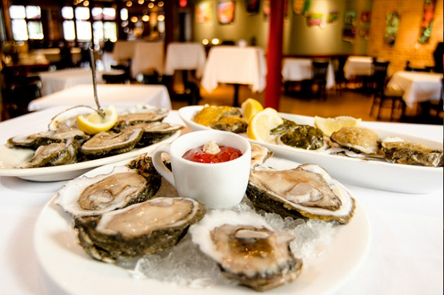 Cresent City Brewhouse Oysters New Orleans