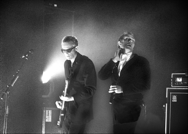 David J and Peter Murphy in  London, February 3, 2006