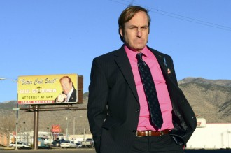 "FILE - This image released by AMC shows Bob Odenkirk in a scene from the final season of ""Breaking Bad."" AMC and Sony Pictures Television confirmed that Odenkirk, who plays Saul Goodman, will star in a one-hour prequel tentatively titled ""Better Call Saul."" (AP Photo/AMC, Ursula Coyote, file)"