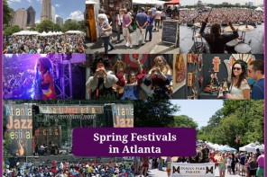 Spring festivals in Atlanta