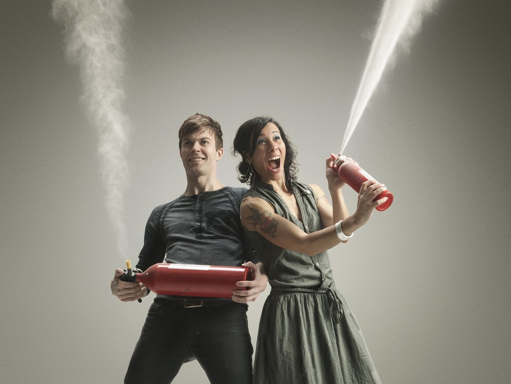 Matt and Kim New Glow Tour