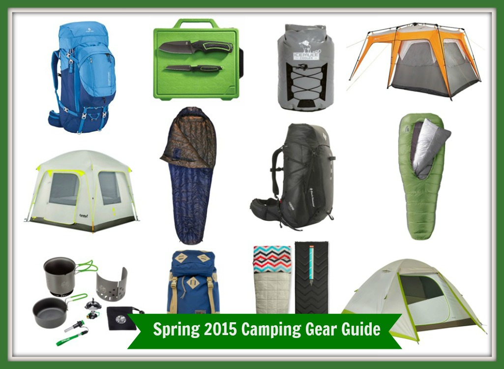 Spring 2015 Camping Gear Guide
