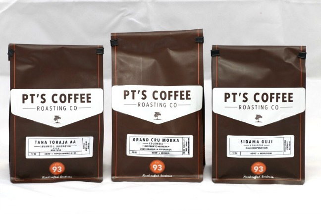 Best Coffee Around the world PTs Coffee