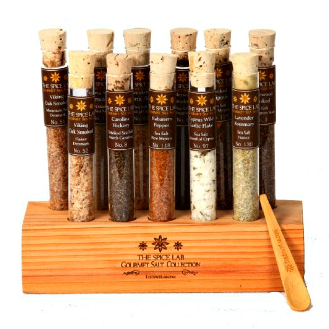 The Spice Lab: Gourmet BBQ Smoked Salt Collection