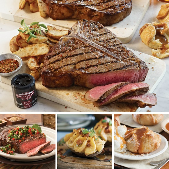 Omaha Steaks: Father's Day Steaks & More combo