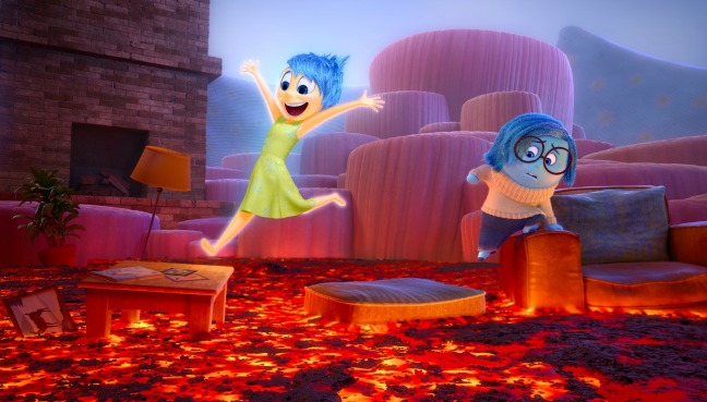 INSIDE OUT – Joy and Sadness navigate through Imagination Land