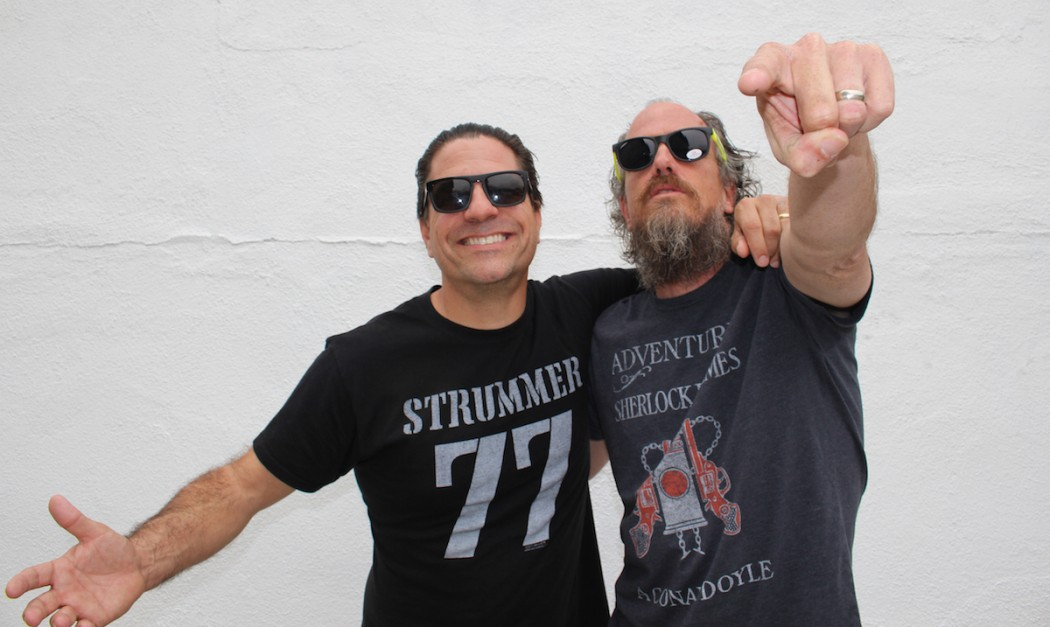 SideOneDummy Records co-founders Joe Sib and Bill Armstrong