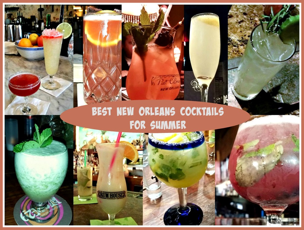 Best New Orleans Cocktails for summer
