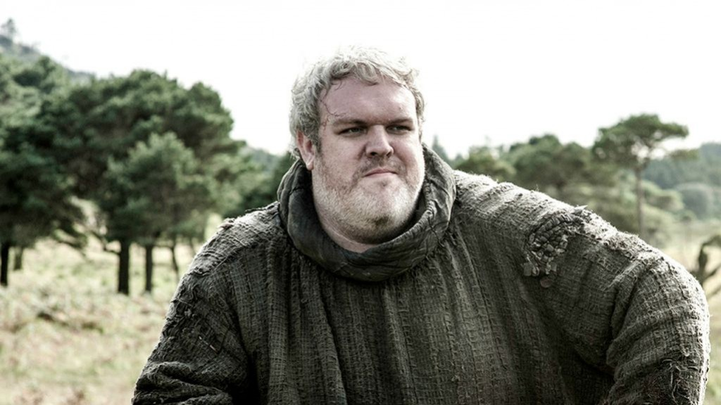 Kristian-Nairn as Hodor in Game of Thrones