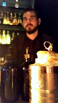 Bellocq - Pat and his killer Moscow Mule