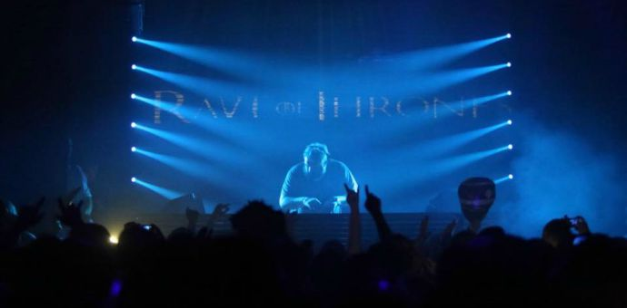 kristian nairn DJ on Rave of Thrones Tour