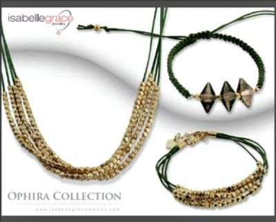 Isabelle Grace Jewelry Ophira Necklace & Bracelet Collection