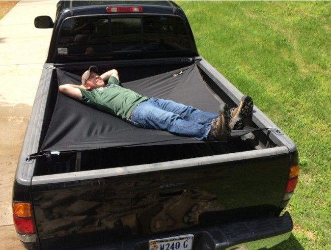 Jammock for Truck Beds