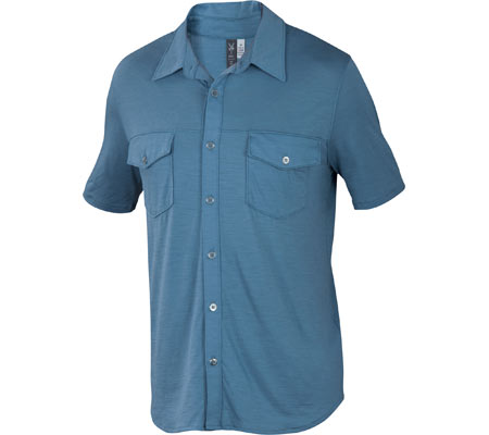 Pale sky ace shirt from IBEX