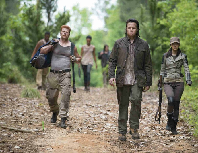 Josh McDermitt as Eugene on The Walking Dead via AMC