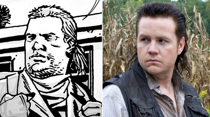 Josh McDermitt and The Walking Dead Comic