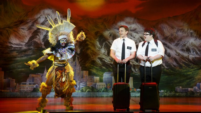 Cody Jamison Strand in The Book of Mormon's Second National Tour. Photo by Joan Marcus