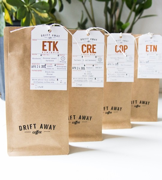 Tasting Kit for 2-12 month gift plans- Drift Away Coffee