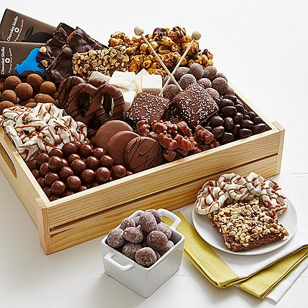 Chocolate Cravings Crate- Shari's Berries