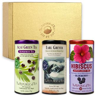 Custom Gift of Three Teas-The Republic of Tea