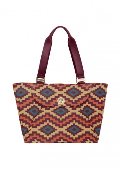 Holiday Gift Guide 2015: Gold Ablerta Tote by Baggallini