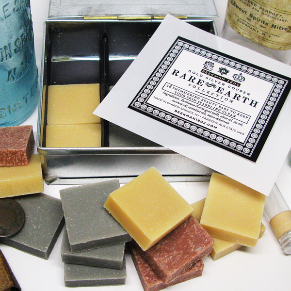 Holiday Gift Guide 2015:  Rare Earth Soap Collection by Beekman 1802