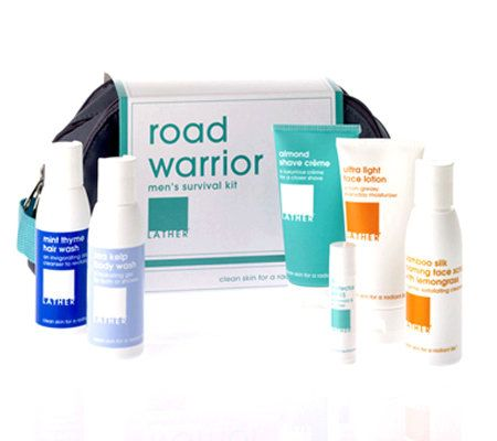 Holiday Gift Guide 2015: Road Warrior Kit by Lather