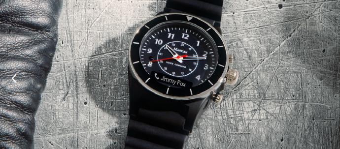 Holiday Gift Guide 2015: Alpha T10 Smartwatch from MARTIAN