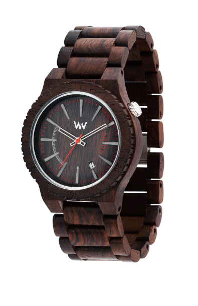 Holiday Gift Guide 2015: Assunt Chocolate Wood Watch by WeWood