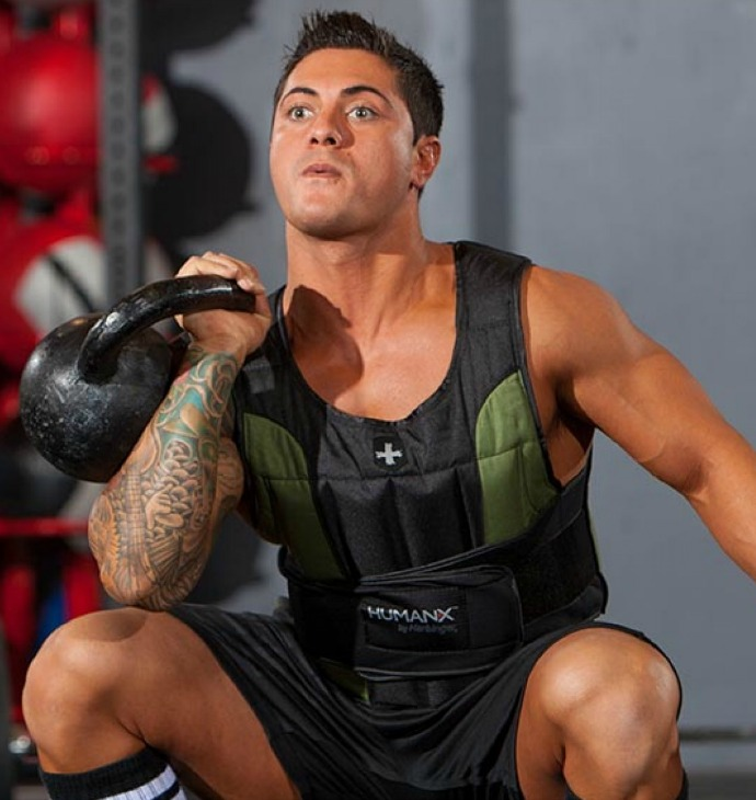20lb Weight Vest from Harbinger Fitness for Keeping New Year's Resolutions