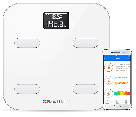 Smart Scale by Pivotal Living for Keeping New Year's Resolutions