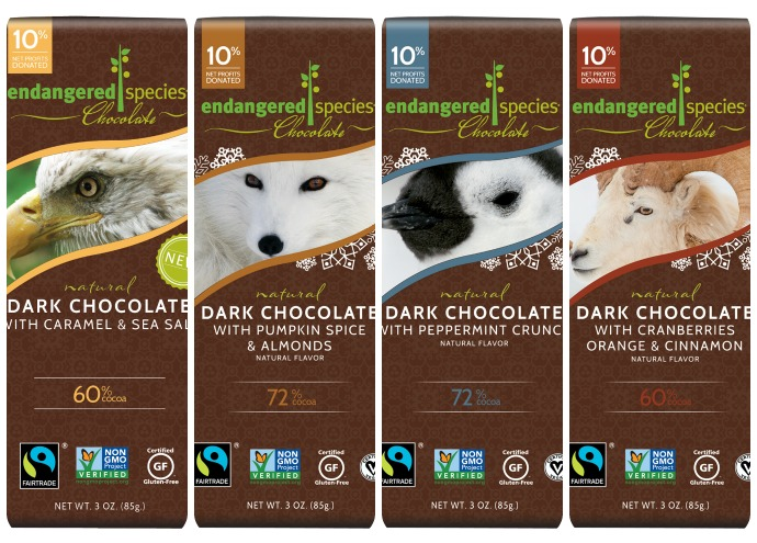 Valentine's Day Gift Guide - Endangered Species Chocolate