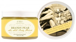 Valentine's Day Gift Guide - Brandy Pear Scrub by Farmhouse Fresh
