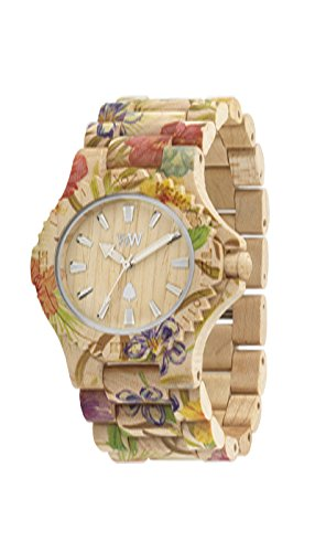 Valentine's Day Gift Guide - Date Flower Wood Watch by WeWood