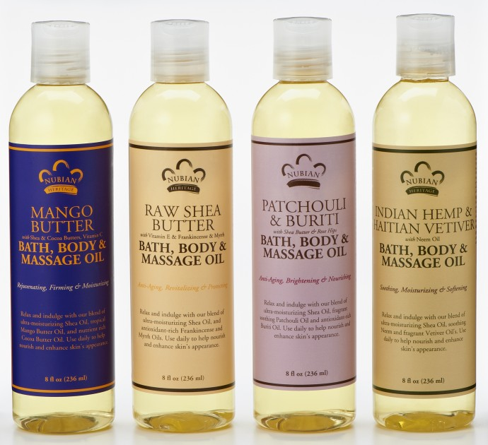 Valentine's Day Gift Guide - Nubian Heritage Bath Massage Oil