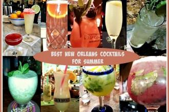 Best New Orleans Cocktails for summer