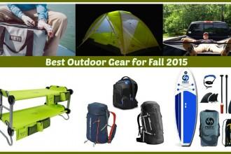 Best Outdoor Gear Fall 2015